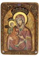 Живописная икона Божией Матери «Троеручица»