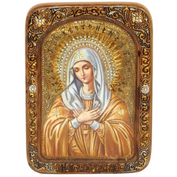 Живописная икона Божией Матери «Умиление» Серафимо-Дивеевская