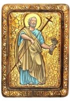 Живописная икона «Апостол Петр»