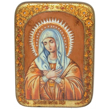 Икона Божией Матери «Умиление» Серафимо-Дивеевская, в шкатулке