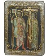 Икона «Святые Константин и Елена»
