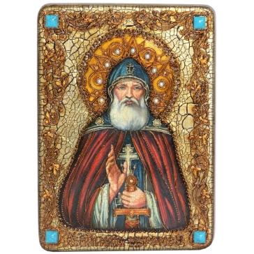 Икона «Преподобный Илия Муромец, Печерский»