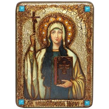 Икона «Святая Равноапостольная Нина, просветительница Грузии» в шкатулке
