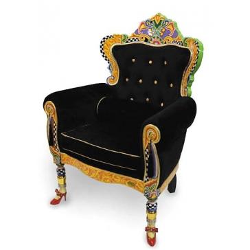Кресло-трон «Black» от Томаса Хоффмана, Германия.