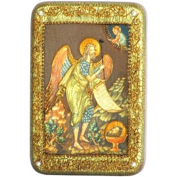 Икона «Пророк и Креститель Иоанн Предтеча» в подарочной шкатулке