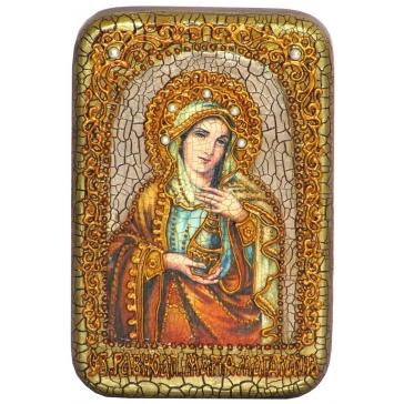 Икона «Святая Равноапостольная Мария Магдалина» в шкатулке
