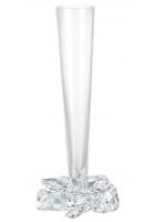 Хрустальная ваза «Роза»