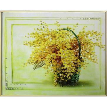Картина Сваровски «Солнечный букет»