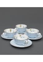 Чайный набор «София Блю» голубой