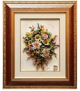 Настенное панно «Цветочная композиция»