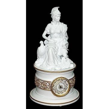 Фарфоровые часы «Европа», 48 см.