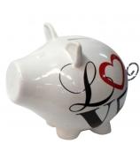 Копилка свинка «Любовь»