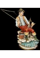 Фарфоровая статуэтка «Рыбак»