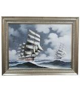Картина «Парусник в море»