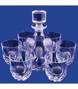 Подарочный набор для виски: графин и 6 бокалов
