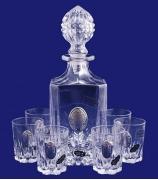 Подарочный набор под водку: графин и 6 рюмок