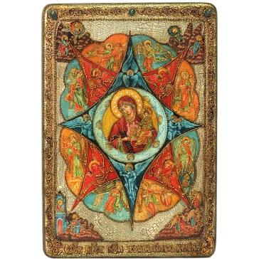 Икона Божией Матери «Неопалимая купина», подарочная, большая