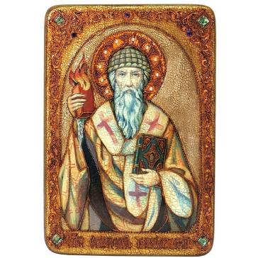 Икона «Святитель Спиридон Тримифунтский»