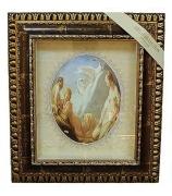 Панно с овальной тарелкой «Три нимфы»