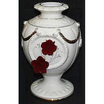 Ваза для цветов «Красные розы», Италия