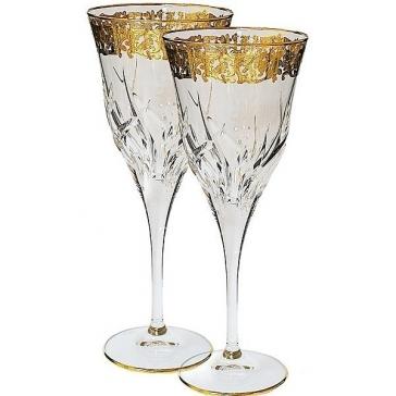 Набор из 6-ти хрустальных бокалов для вина, Италия