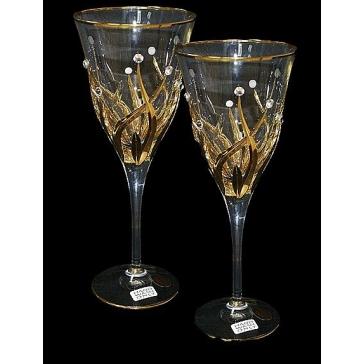 Набор из 6-и хрустальных бокалов для вина, Италия