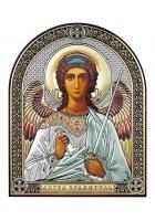 Икона «Ангел Хранитель», посеребренная