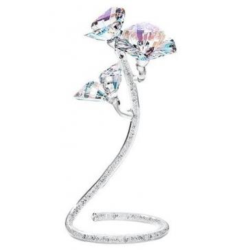 Хрустальный цветок на ножке «Цветок любви»