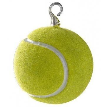 Елочная игрушка «Теннисный мячик», Польша