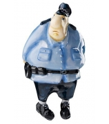 Елочная игрушка «Полицейский»