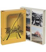 Подарочная книга «Паровозы. Старинные открытки и иллюстрации»