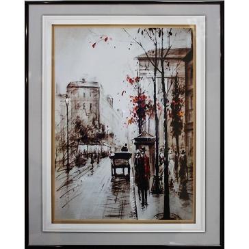 Картина Сваровски «Прогулка по Лондону»