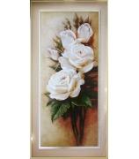 Картина «Белые розы»