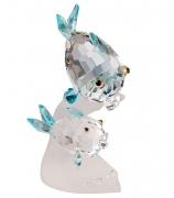 Хрустальная фигурка «Пара рыбок»
