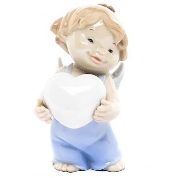 Фарфоровая статуэтка «Подарок любимой»