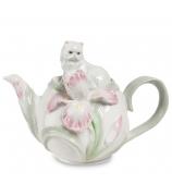 Заварочный чайник «Котенок с ирисом»
