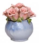 Цветочная композиция «Розовые розы»