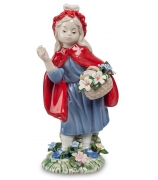 Фарфоровая статуэтка «Красная шапочка»