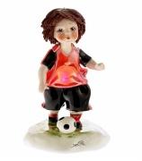 Фарфоровая статуэтка «Футболист»