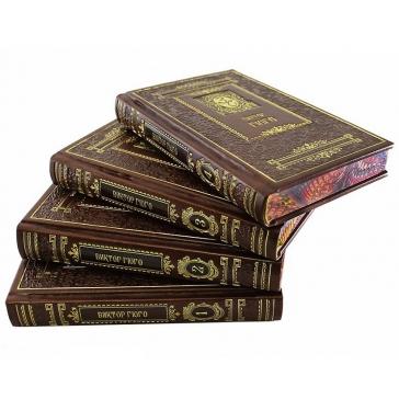 Золотая серия. Избранные сочинения В.Гюго в 4т.