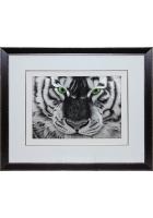 Шелковая картина «Бенгальский тигр»