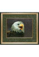 Шелковая картина «Орел»