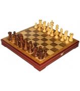 Шахматы классические деревянные с утяжелителем