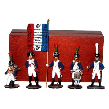 Оловянные солдатики «Французы»