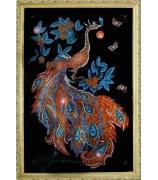 Картина «Звездный павлин»