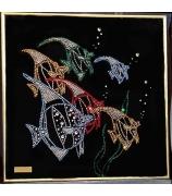 Картина «Цветные рыбки»