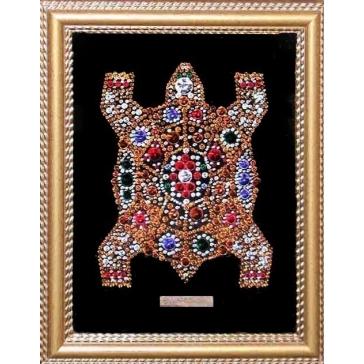 Икона с кристаллами Сваровски «Черепаха»
