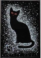 Картина «Кошка в снегу»