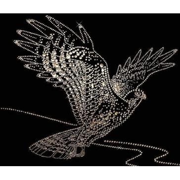 Картина из кристаллов Сваровски «Сокол»