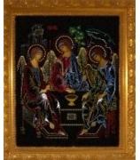 Икона «Троица», Swarovski